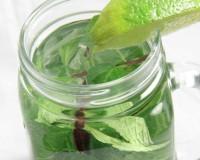 Thé à la menthe verte